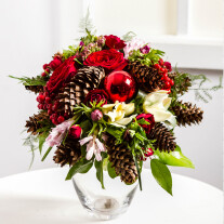 Christmas Bouquet with Cones