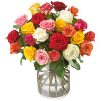 Bouquet of roses Allure (without vase)